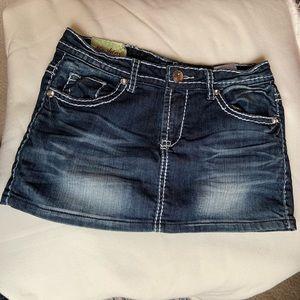 🔥Machine Nouvelle Mode Mini Skirt Sz 28😍